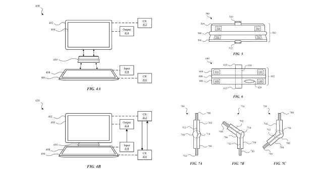 苹果新专利配件连接iPhone和iPad,变身笔记本电脑