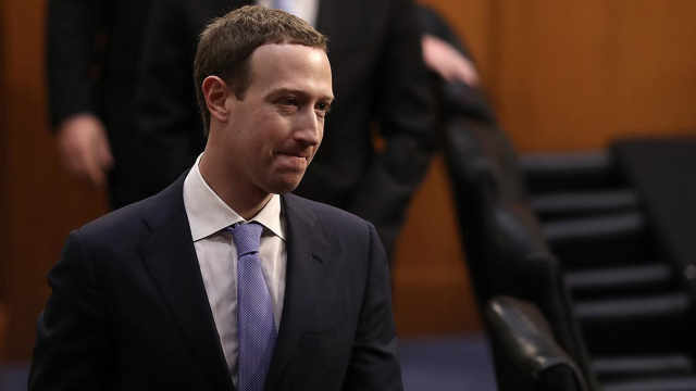 扎克伯格听证会一度脱稿:我们落后苹果、谷歌等竞争对手