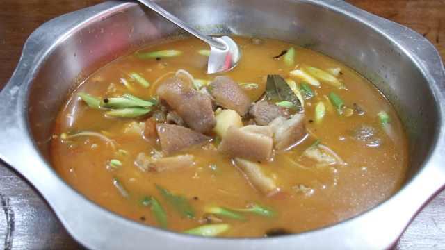 广西名菜酸汤猪脚:酸辣鲜香,壮族人100年吃不腻