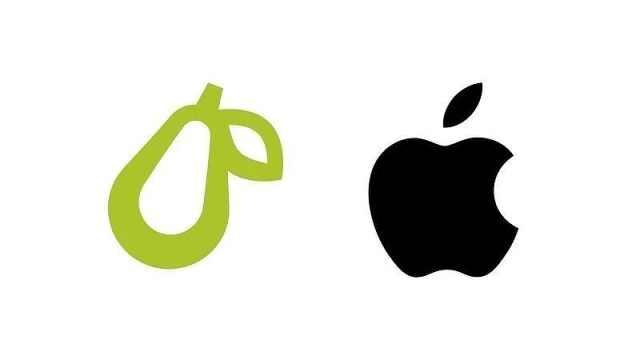 苹果起诉使用梨logo公司 ,认为商标过于相似