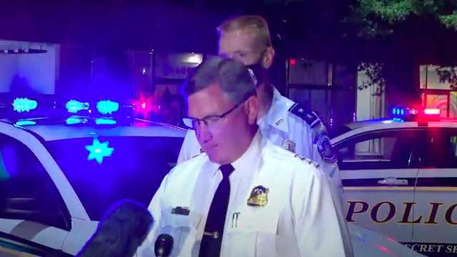 白宫外枪击事件细节曝光:51岁男子假装射击,被特勤警官击中
