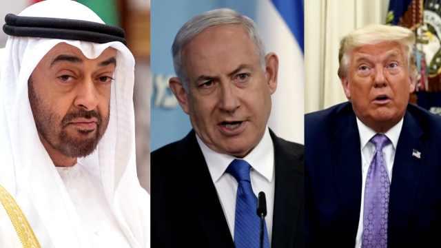 特朗普撮合下阿联酋以色列建交,巴勒斯坦谴责