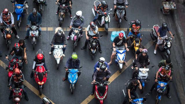泰国银行首次接受摩托车抵押贷款,主要面向农