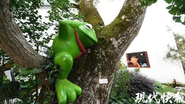 """苏州童话村庄打造""""青蛙""""IP,村民在家门口奔小康"""