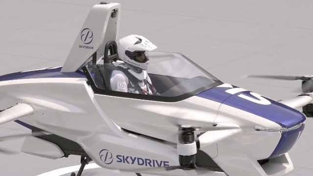 """丰田投资的飞行汽车亮相,""""打飞的""""未来不再是玩笑?"""
