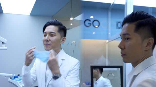 前台湾偶像歌手许君豪回应成都当牙医:当第2个家,喜欢慢节奏