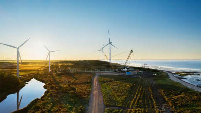 苹果投资全球最大陆上风力涡轮机,为丹麦数据中心供电