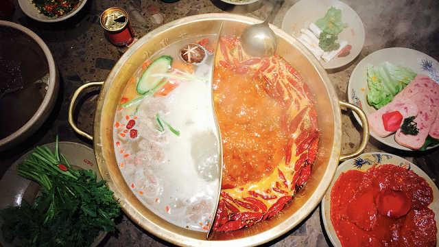 """聚焦火锅""""隐形""""浪费:吃火锅把剩菜埋进锅底"""