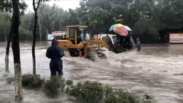 哈尔滨积水铲车运