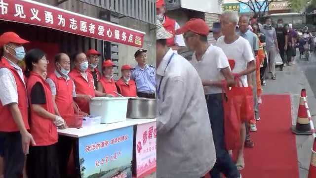 """早餐不要钱还管饱!杭州这群""""热血好汉""""让环卫工热泪致谢"""