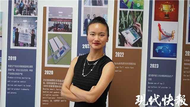 90后新农人苏婷凤:从小感受到种地艰辛,立志用技术解放农民