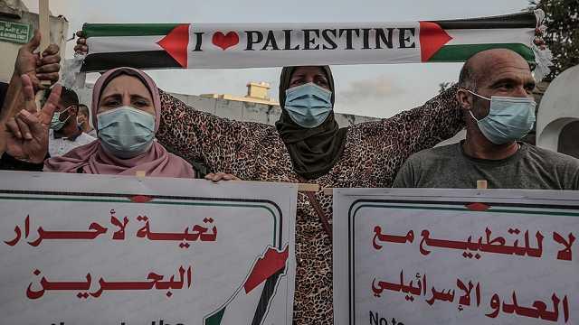 以色列与阿联酋巴林在白宫签正常化协议,特朗