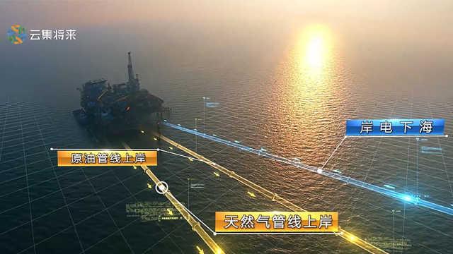 镜头记录海上油田石油人的日常