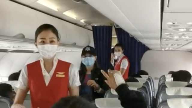 万米高空乘客突发疾病,女医生查病因施救:虽是外科就想着救人