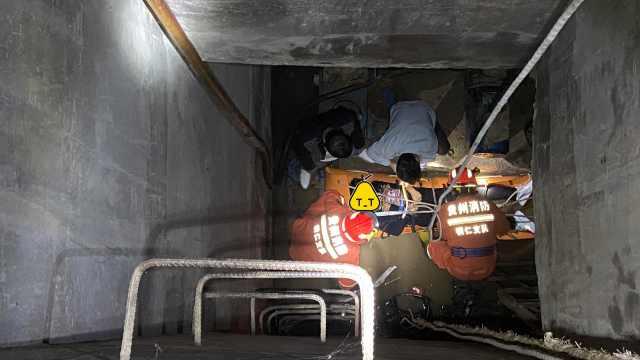 女子凌晨掉进6米深抽水塔,获救后连说三句话,笑翻全场