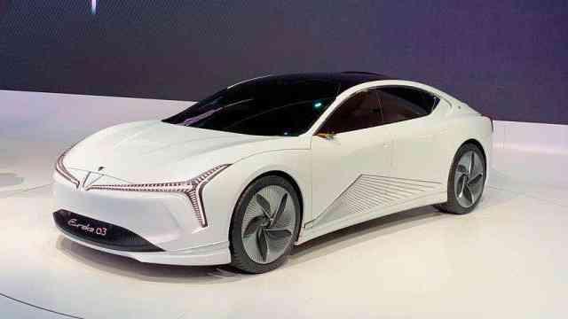 哪吒这款概念车的名字你会读吗?
