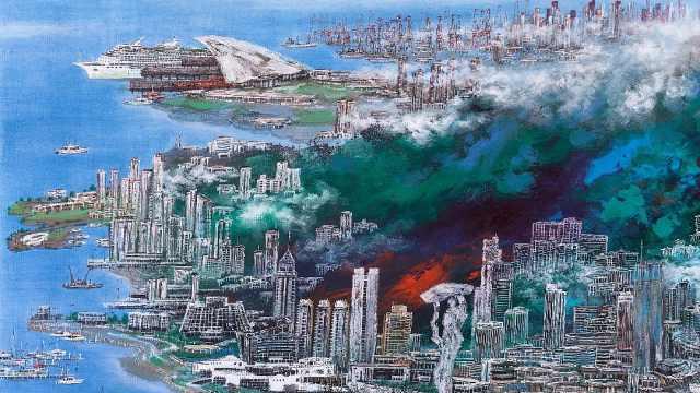 深圳经济特区40年,他把13幅作品捐给深圳市政府