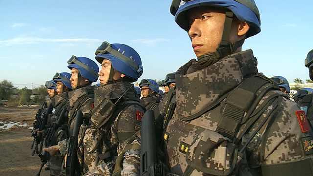 海外维和30载:走近中国蓝盔