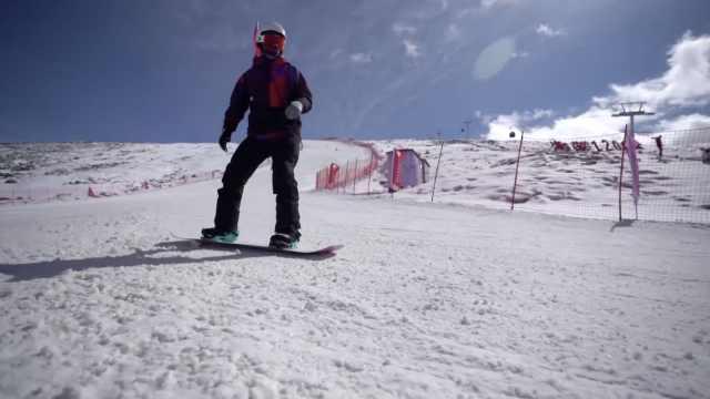 新疆已进入滑雪季!滑雪场国庆开启2020冬季首滑