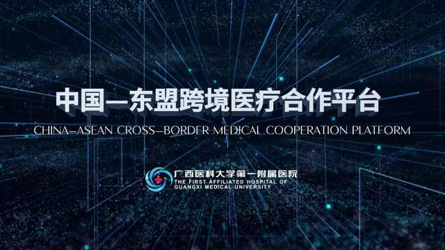 中国——东盟跨境医疗合作平台启动