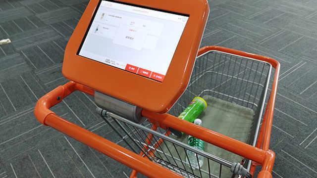 """智能购物车走进南京超市,这些""""高科技""""更方便还是很鸡肋?"""