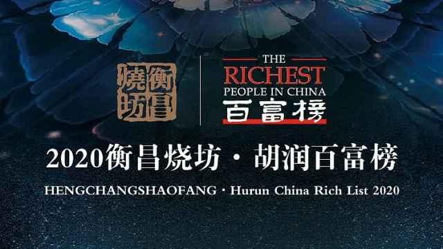 2020胡润百富榜:马云第四次成中国首富,农夫山泉钟睒睒第三