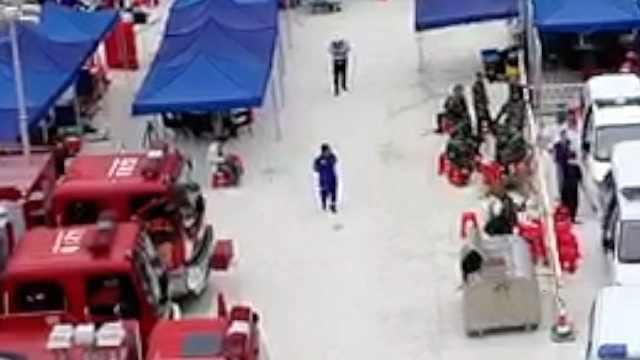 广西乐业塌方事故发现1名被困人员遗体,仍有8人被困
