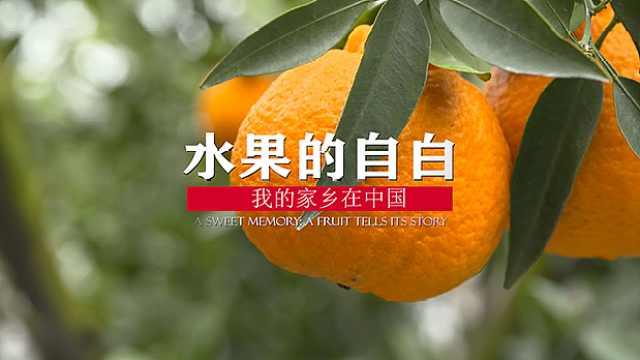 水果的自白:我的家乡在中国