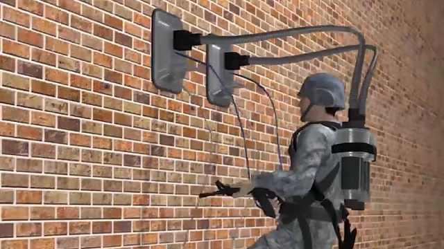"""这款爬墙背包,让你轻松攀爬30米高墙,秒变""""蜘蛛侠""""!"""