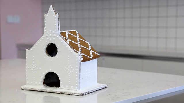 经典姜饼屋:造一个雪中小屋,修一份气定神闲
