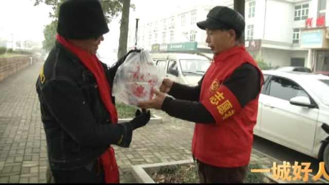 一城好人丨刘天顺:送女儿到社区上班,父亲就地做起志愿者