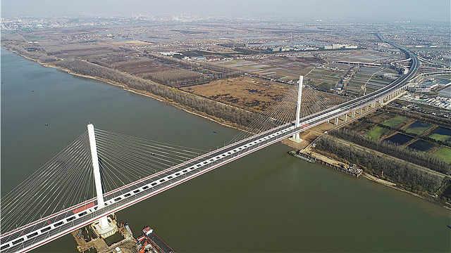 终于等到你!南京江心洲长江大桥正式开通