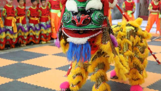 榕城青狮——南方最具特色的狮舞