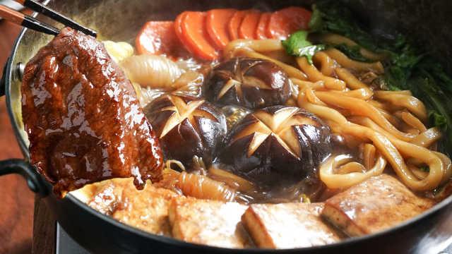 跨年夜一个人吃寿喜锅的快乐,你想象不到!
