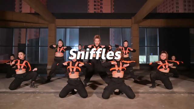 夏橙翻跳《Sniffles》,舞力全开