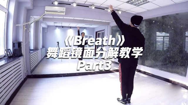 GOT7《Breath》舞蹈镜面分解教学Part3