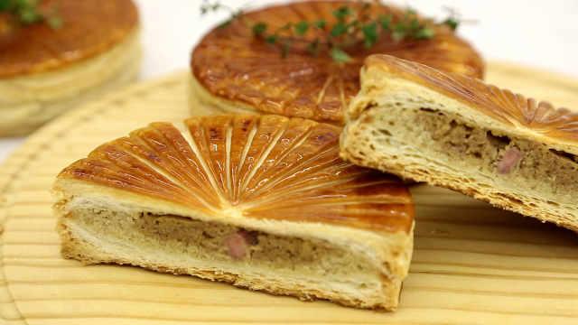 香蕉杏仁国王饼:小饼饼,适合新手的刻纹练习