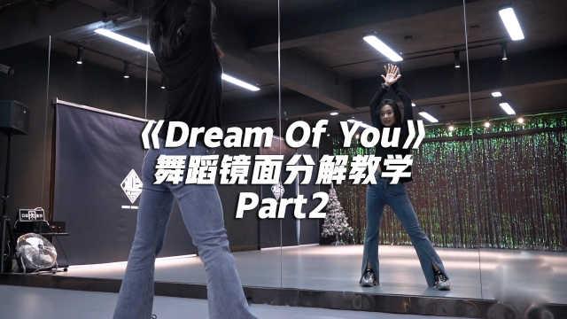 金请夏《Dream Of You》舞蹈镜面分解教学Part2