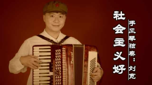 《社会主义好》——手风琴独奏