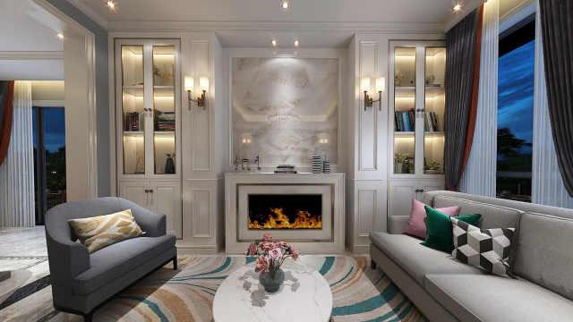 实景别墅颜值超高!200平豪宅,轻奢法式主义真的太美了!