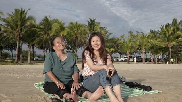 女孩带80岁外婆去旅行:爱要趁早,不留遗憾