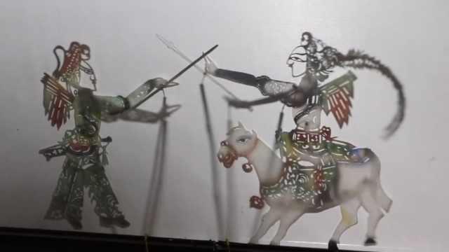 7旬老人表演皮影戏60年,带着儿孙一起传承