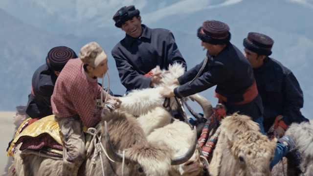 雄鹰展翅帕米尔,非物质文化遗产——牦牛叼羊