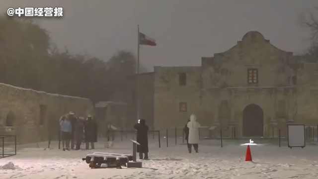停水停电停暖断粮,美国得州为啥因为一场暴雪瘫痪?