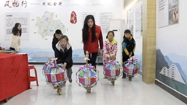 湖南双江元宵节滚灯车:从明朝滚来,76岁老人仍在传承手艺