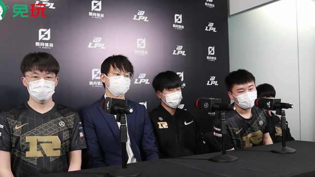 RNG赛后群访 - Xiaohu:塞恩比较契合我们阵容