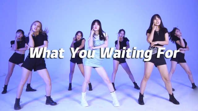 翻跳SOMI《What You Waiting For》,仙女下凡