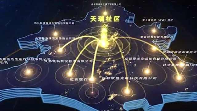 迈向国际化的成都高新区天瑞社区