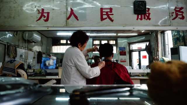 太原最后的国营理发店开了66年:tony老师均龄60岁,从不办卡