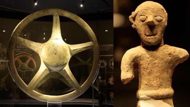 """三星堆考古挖出""""方向盘""""?还有印度洋的海贝?学者这样说"""